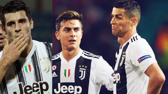Dybala-Ronaldo-Morata